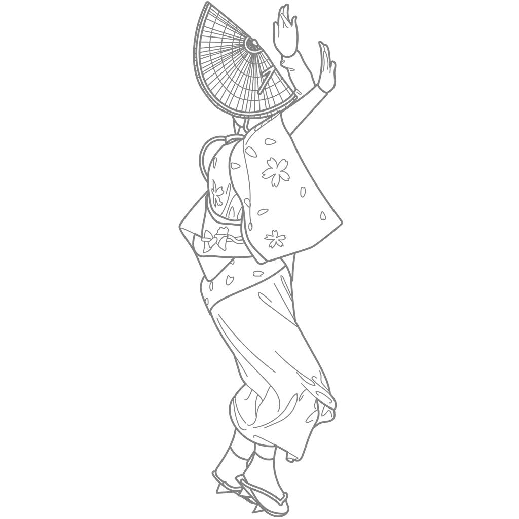 阿波踊り:グレー線バージョン