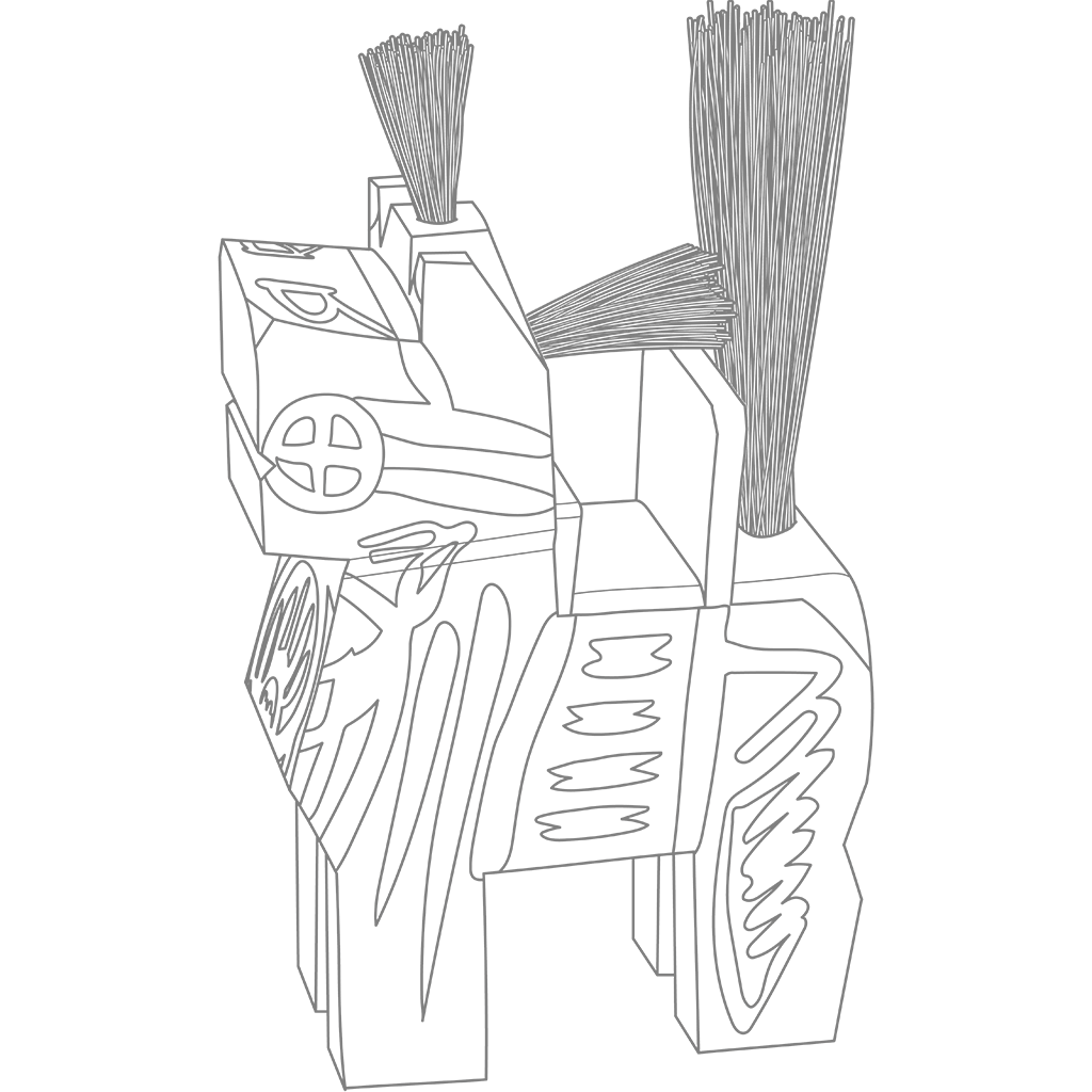 三春駒:グレー線バージョン