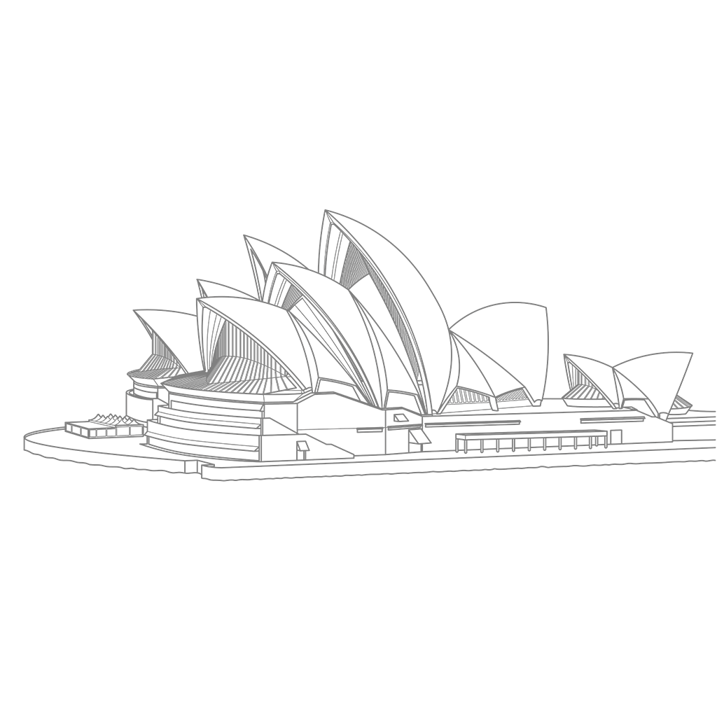 シドニー・オペラハウス:グレー線バージョン